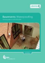 Basements: waterproofing - general guidance to BS 8102:2009